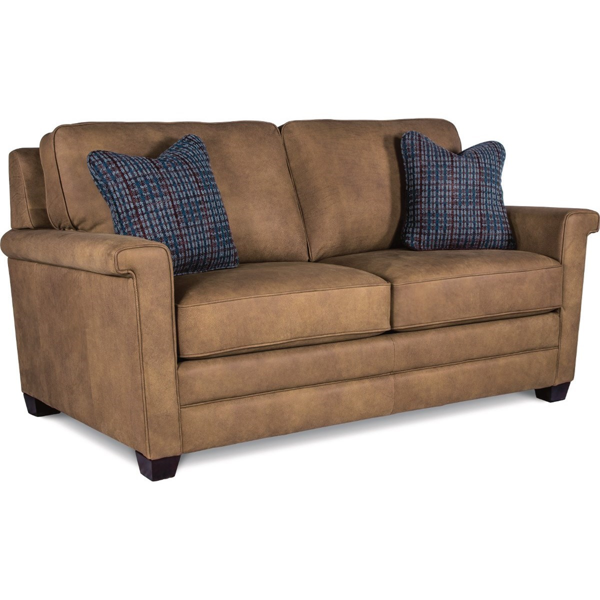 modern apartment sized furniture | La-Z-Boy Bexley Contemporary Apartment Size Sofa | Lindy's ...