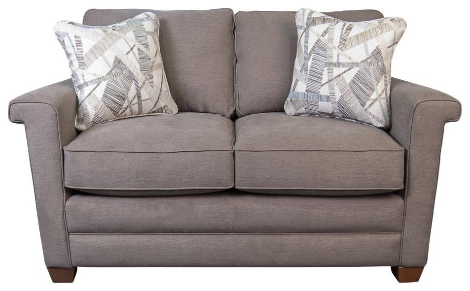 Bexley Loveseat with Accent Pillows