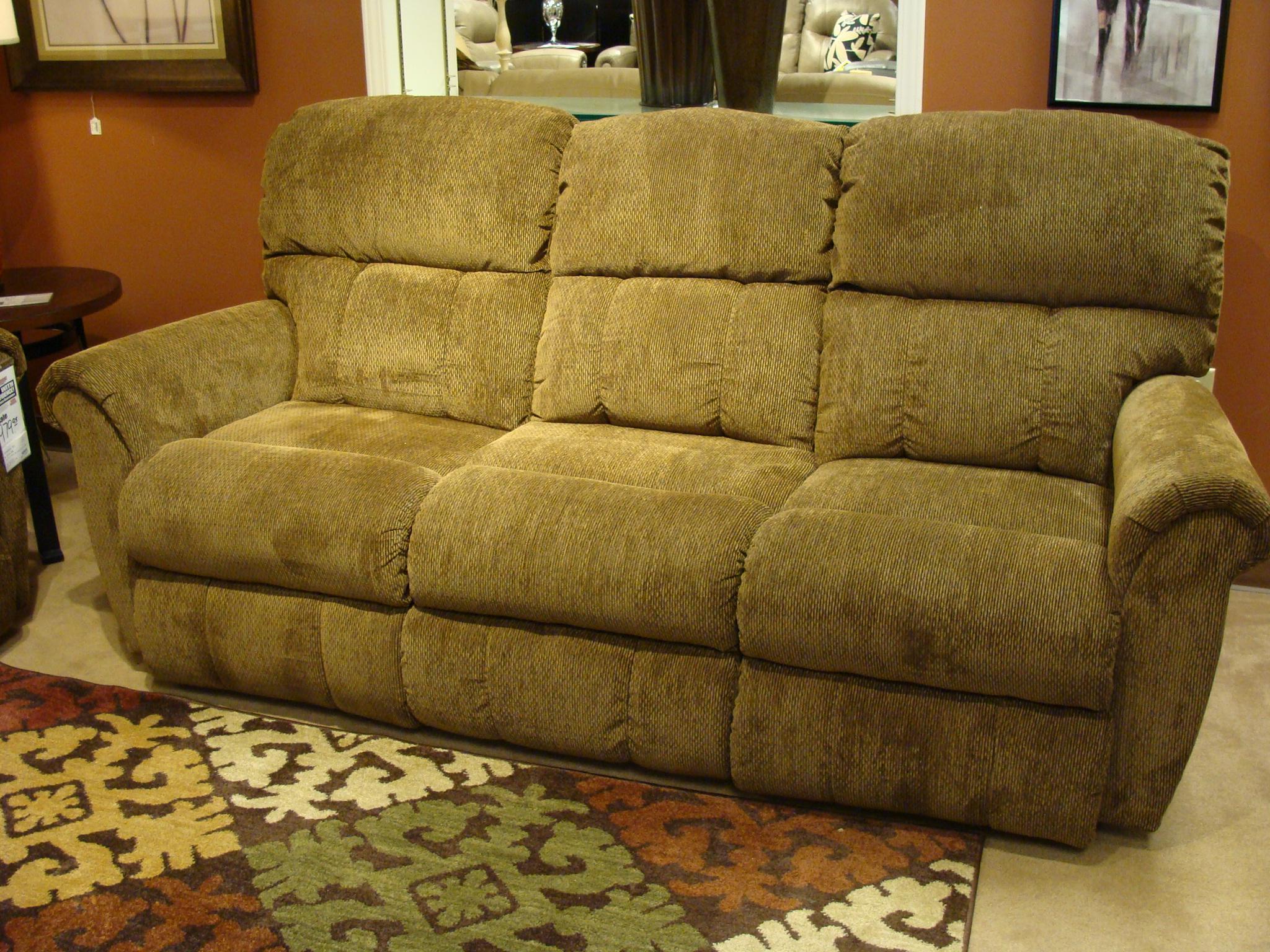 La Z Boy Briggs La Z Time Full Reclining Sofa VanDrie Home