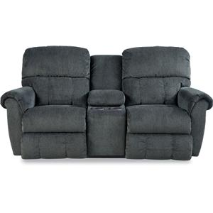 Power Dual Recline Console Loveseat