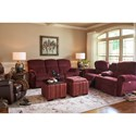 La-Z-Boy Briggs Reclining Living Room Group - Item Number: 701 Living Room Group 1