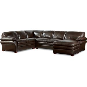 La-Z-Boy Brock Traditional 3 Piece Sectional