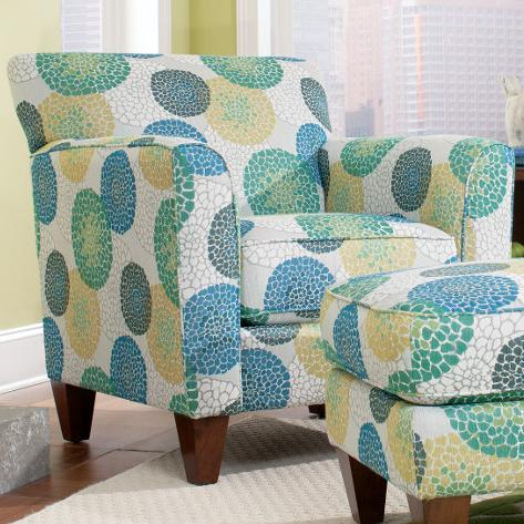 Chairs Allegra Stationary Chair by La-Z-Boy at Jordan's Home Furnishings