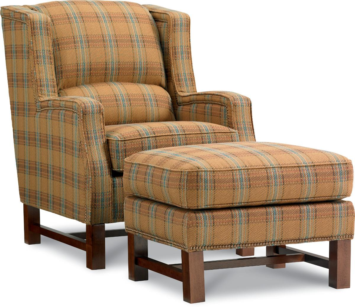 Chairs Chair and Ottoman by La-Z-Boy at Jordan's Home Furnishings