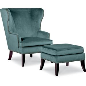 Moscato Chair and Ottoman Set