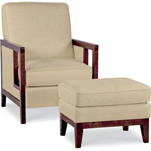 La-Z-Boy Chairs Accent Chair and Ottoman
