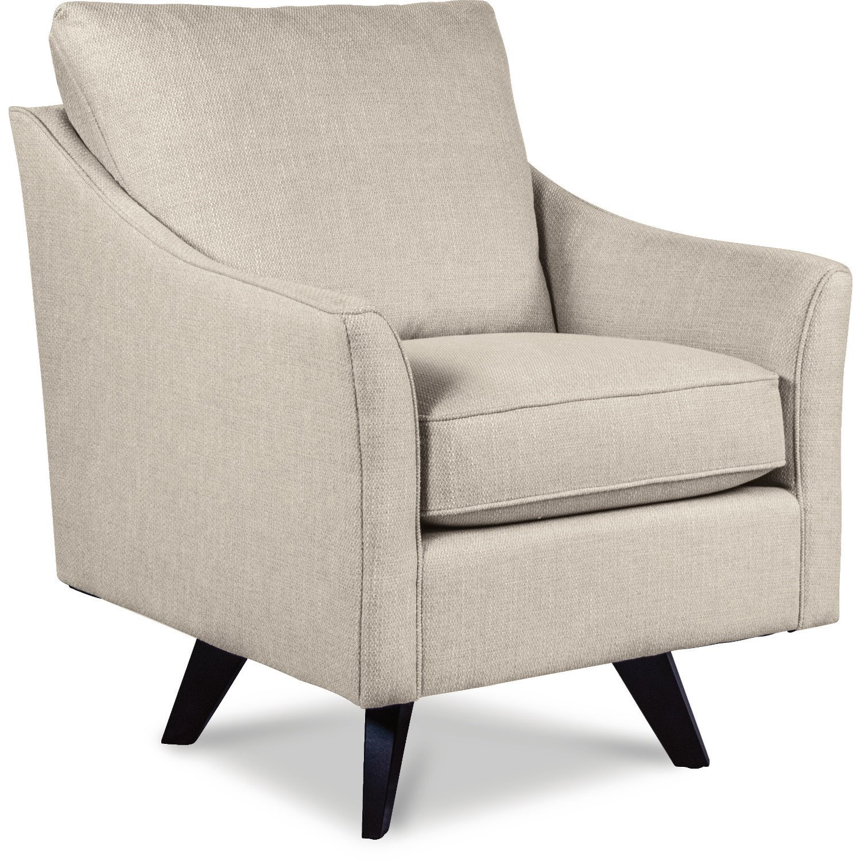 Chairs Reegan Swivel Occasional Chair by La-Z-Boy at Jordan's Home Furnishings