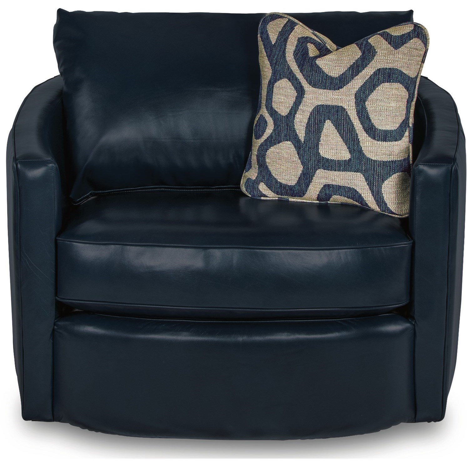 Chairs Clover Premier Swivel Occasional Chair by La-Z-Boy at Jordan's Home Furnishings