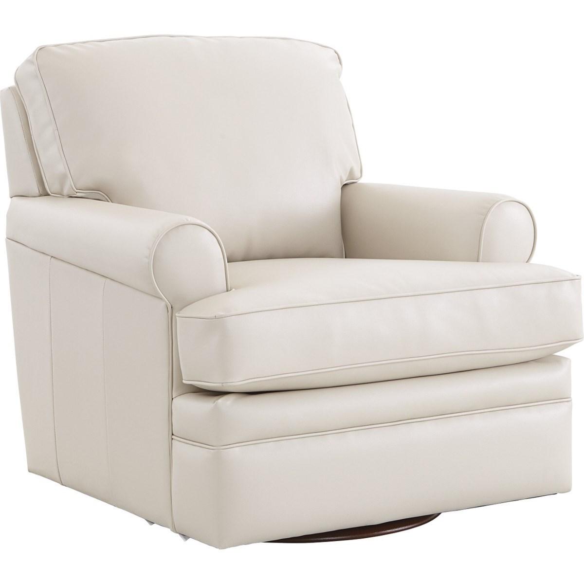 Chairs Premier Swivel Glider by La-Z-Boy at Jordan's Home Furnishings