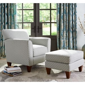 Allegra Chair & Ottoman