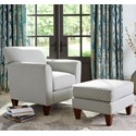 La-Z-Boy Chairs Allegra Chair & Ottoman - Item Number: 235401+245401E126554