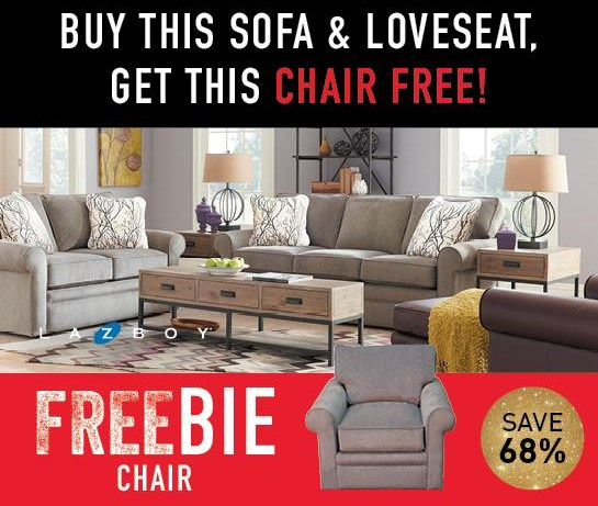 Collins Collins Sofa and Loveseat with FREEBIE! by La-Z-Boy at Morris Home
