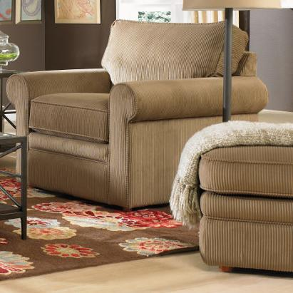 La-Z-Boy Collins Chair & Ottoman - Item Number: 230494L+240494C990676