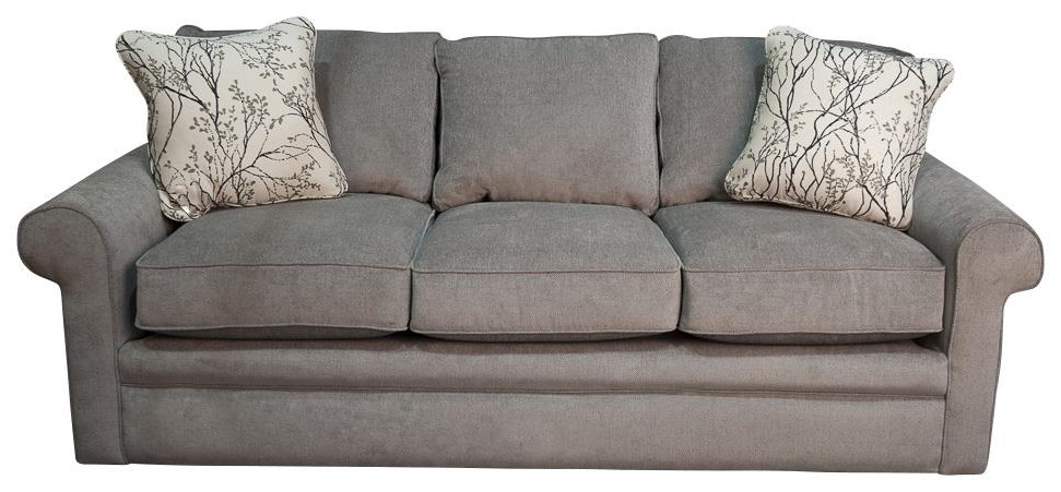 Collins Collins Sofa with Accent Pillows by La-Z-Boy at Morris Home