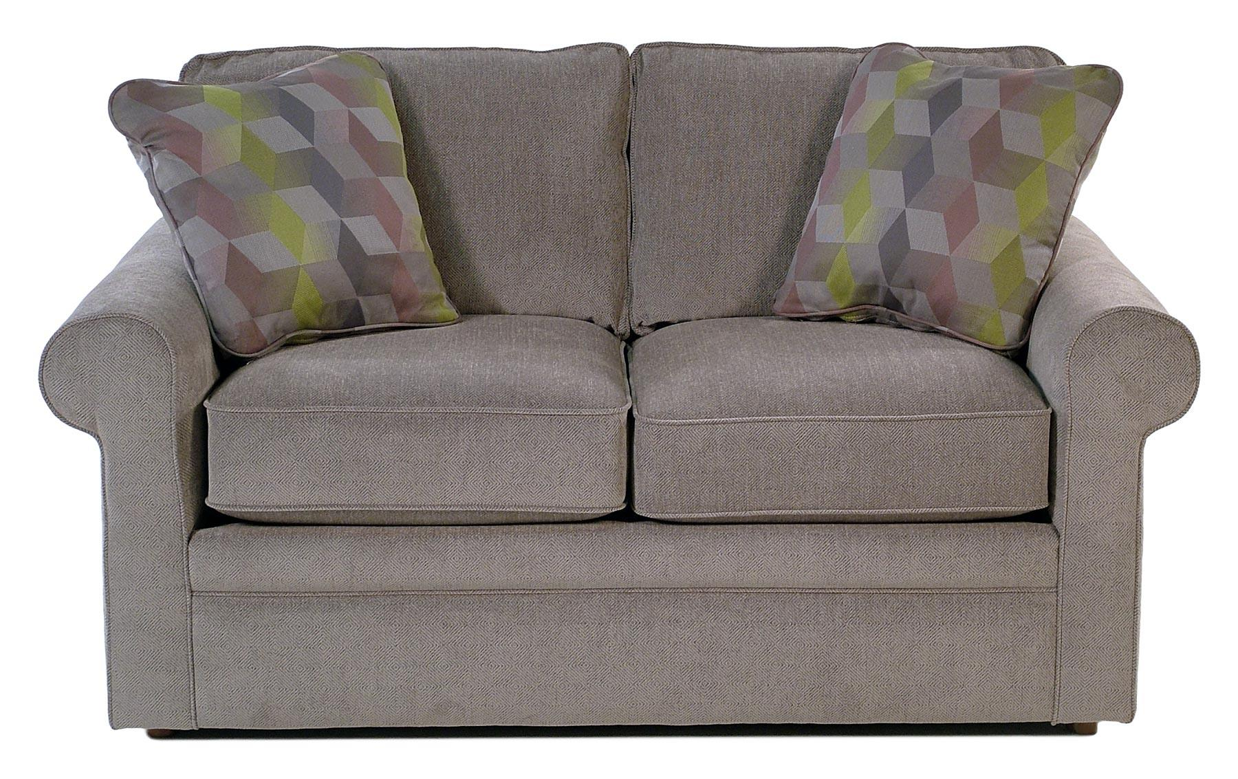 La-Z-Boy Baltic Loveseat w/ Rolled Arms - Item Number: 630494-C124153