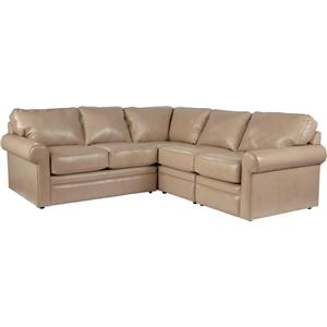 La-Z-Boy Collins 4 Pc Corner Sectional Sofa