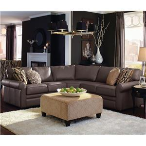 4 Pc Corner Sectional Sofa