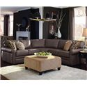 La-Z-Boy Collins 4 Pc Corner Sectional Sofa - Item Number: 6CC494+60M494+60E+60A LE11753