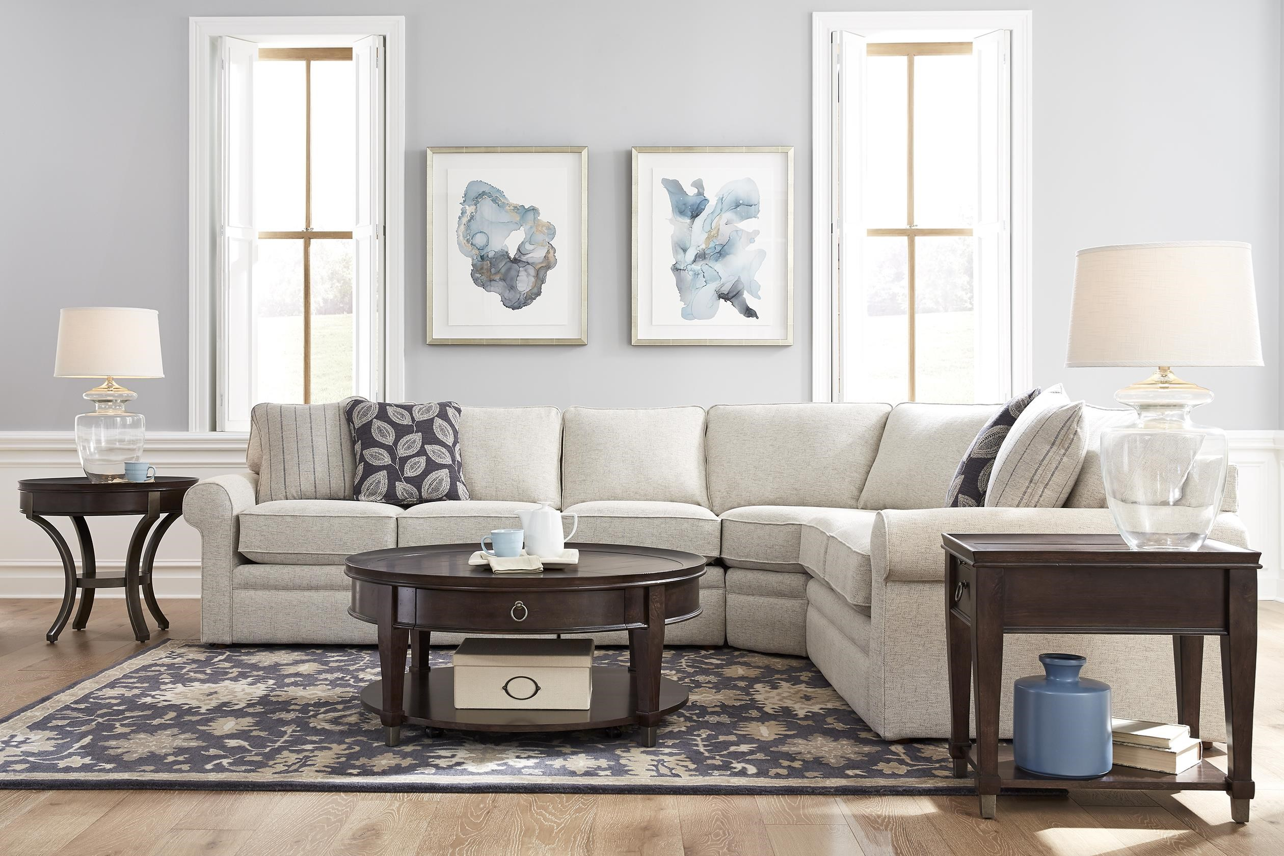 collins 4 piece sectional
