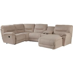 La-Z-Boy Dawson 5 Pc Reclining Sectional Sofa w/ LAS Chaise