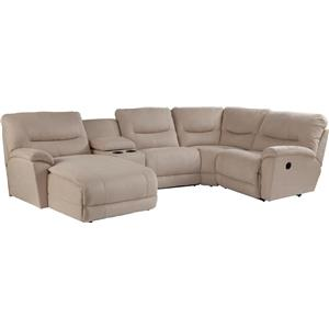La-Z-Boy Dawson 5 Pc Reclining Sectional Sofa w/ RAS Chaise