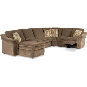 La-Z-Boy Max 5 Piece Reclining Sectional Sofa