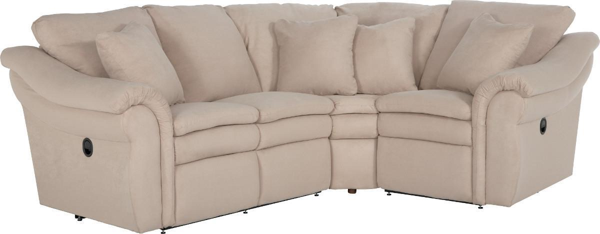 Devon  3 Pc Power Reclining Sectional Sofa by La-Z-Boy at Adcock Furniture