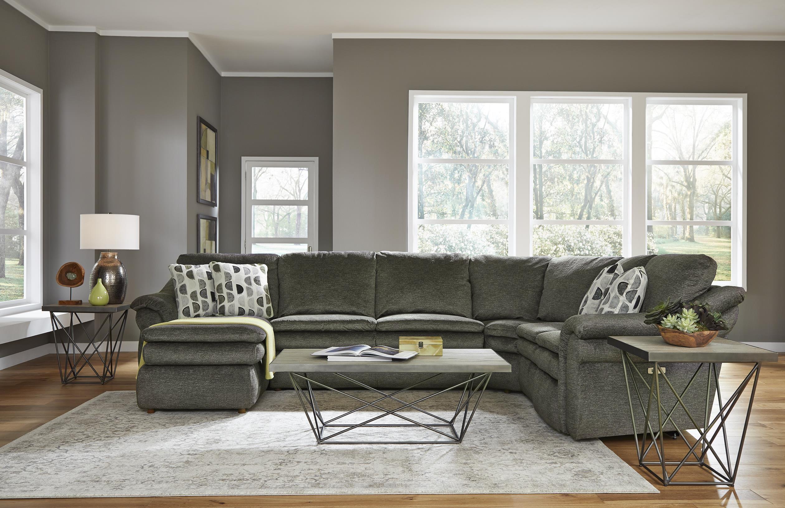 4 Piece Power Reclining Sectional Sofa w/ Sl