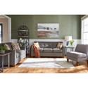 La-Z-Boy Dixie Living Room Group - Item Number: 634 Living Room Group 1