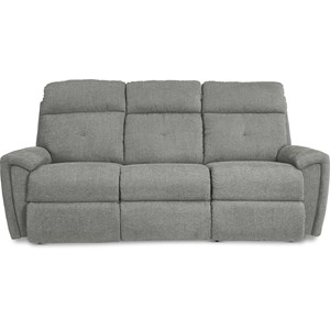 La-Z-Time Power-Recline Sofa w/ Pwr Headrest