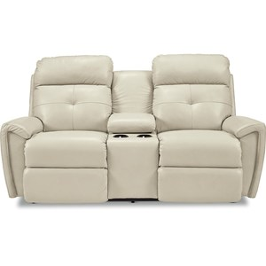 Power Recline Console Loveseat w/ Pwr Head