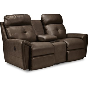 Power La-Z-Time Full Reclining Loveseat w/C