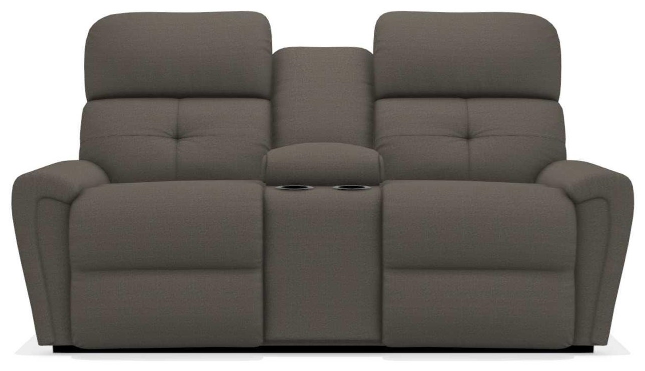 Douglas Power La-Z-Time Full Reclining Loveseat w/C by La-Z-Boy at Walker's Furniture