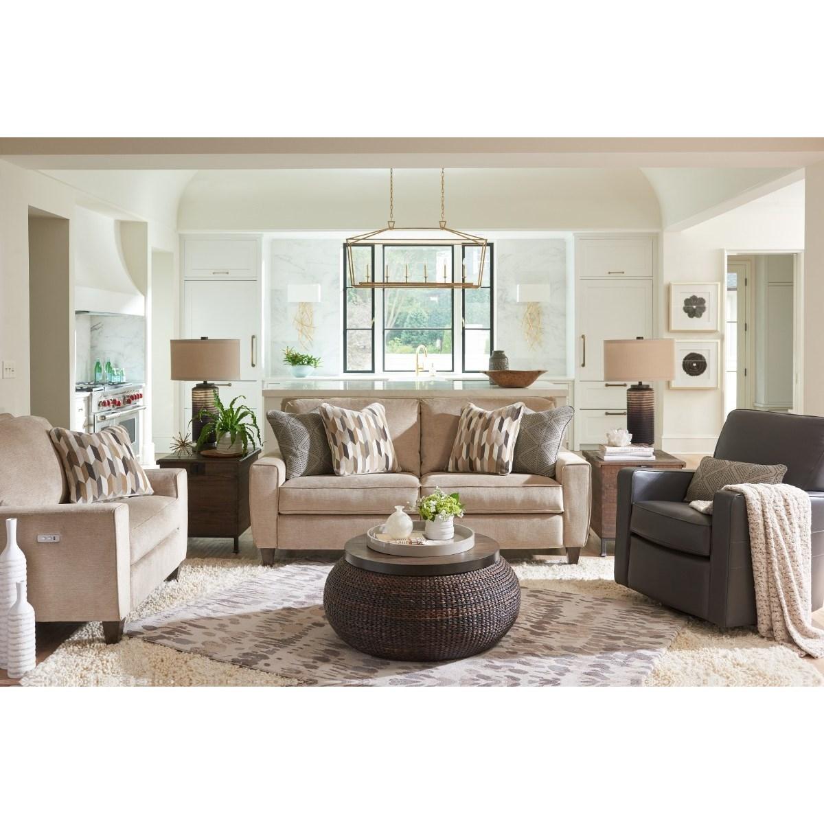 La Z Boy Edie Reclining Living Room Group Conlin S