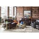 La-Z-Boy Ellis Living Room Group - Item Number: 914 Living Room Group 1