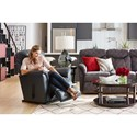 La-Z-Boy Fortune Casual Wall Saver Recliner
