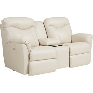 La-Z-Boy Fortune PowerRecline+ La-Z-Time® Loveseat w/ Console