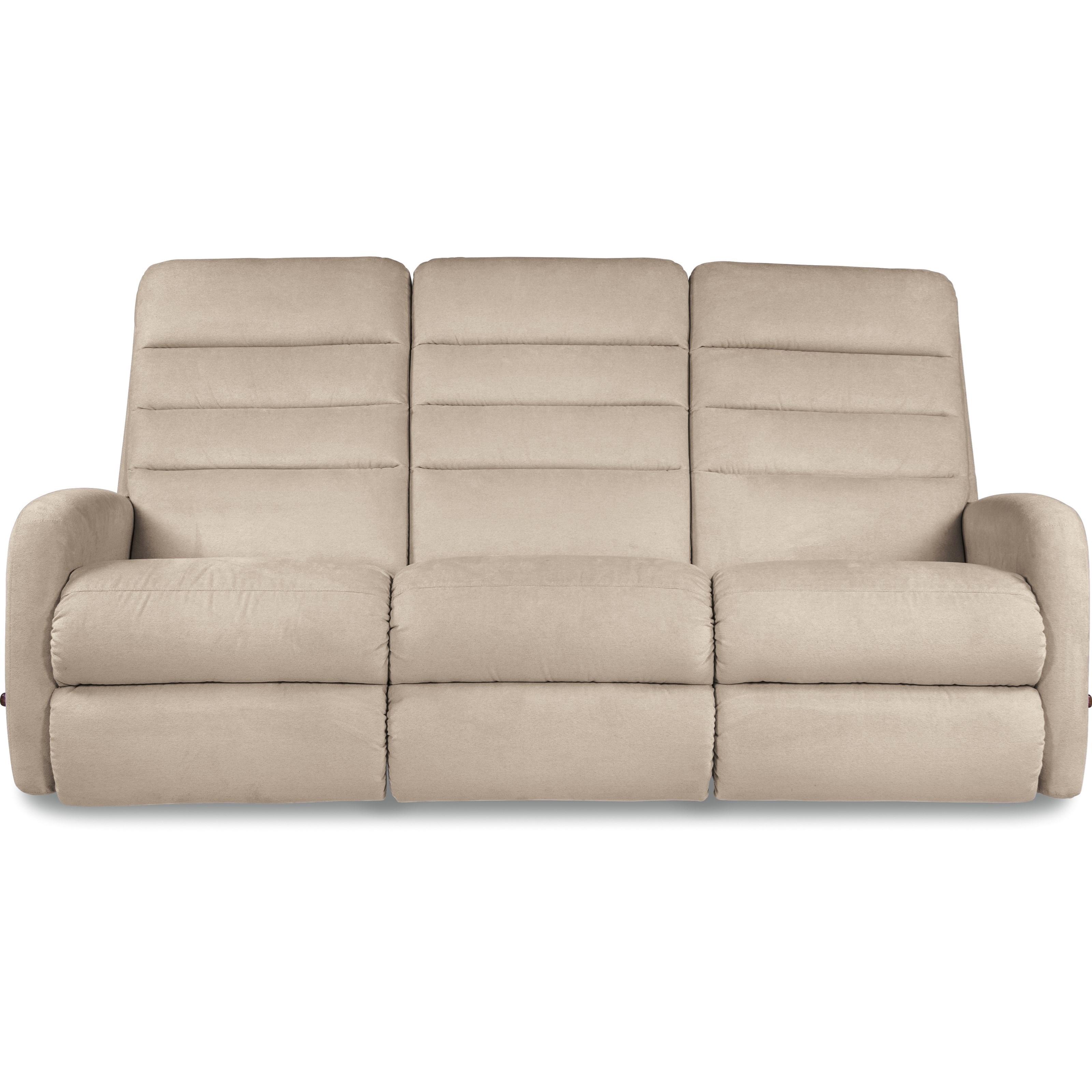 lazboy forum contemporary reclining sofa  houston's