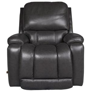 La-Z-Boy Greyson Greyson 100% Leather Rocker Recliner