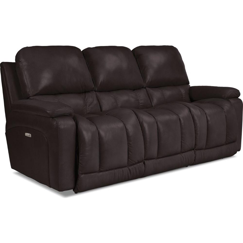 Greyson Power La-Z-TimeFull Reclining Sofa by La-Z-Boy at Walker's Furniture