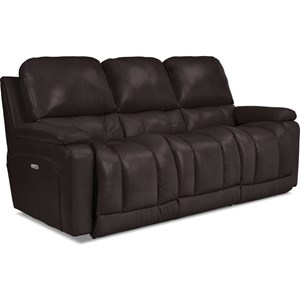 Power La-Z-Time Full Reclining Sofa