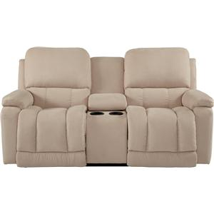 La-Z-Boy Greyson La-Z-Time® Full Reclining Loveseat w/Console