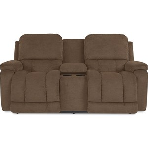Power-Recline Love w/ Pwr Headrest & Consol