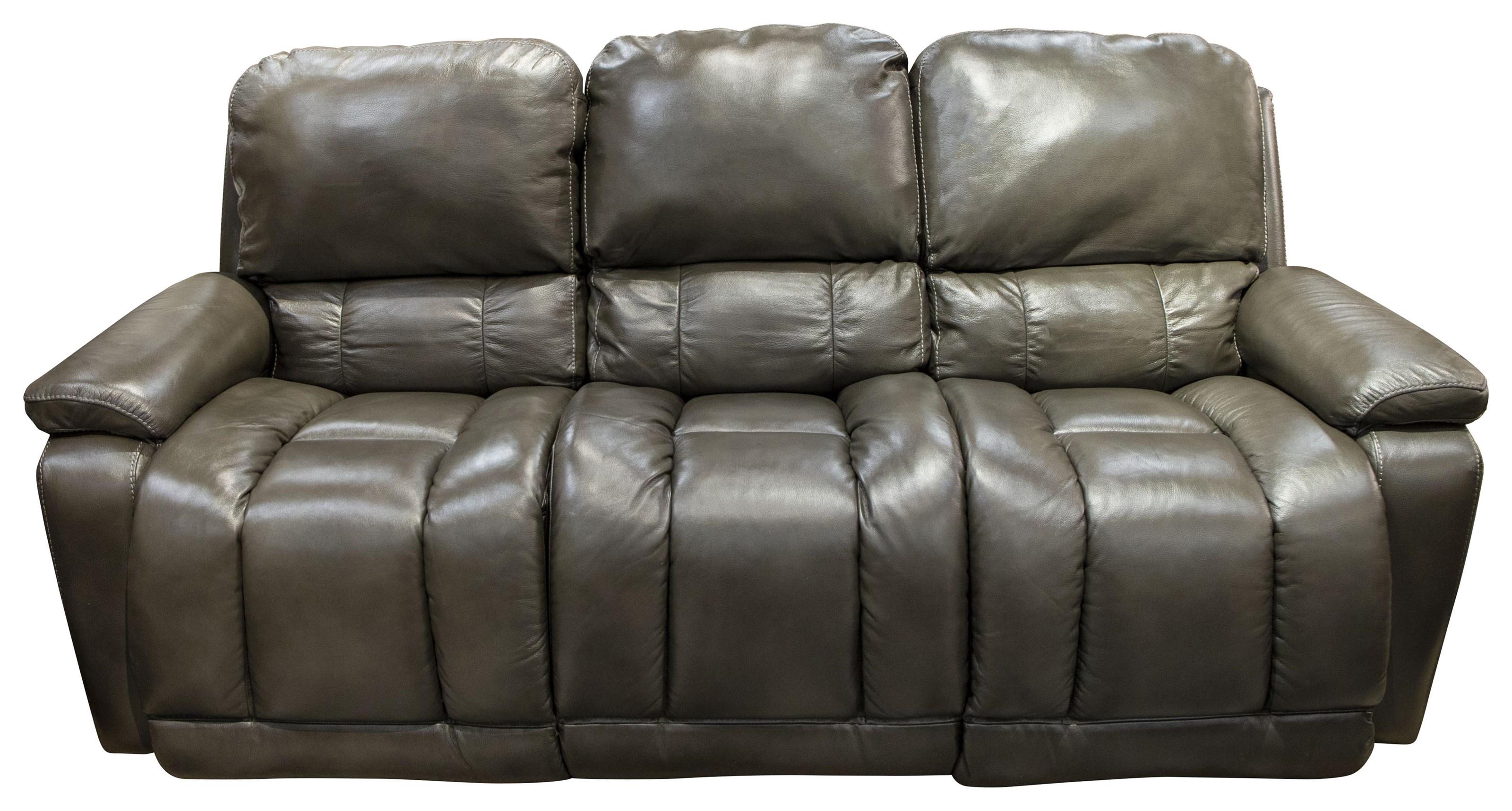Greyson Greyson Leather Power Sofa by La-Z-Boy at Morris Home