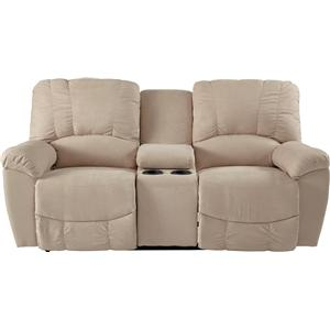 La-Z-Boy Nautilus La-Z-Time® Full Reclining Loveseat w/Console