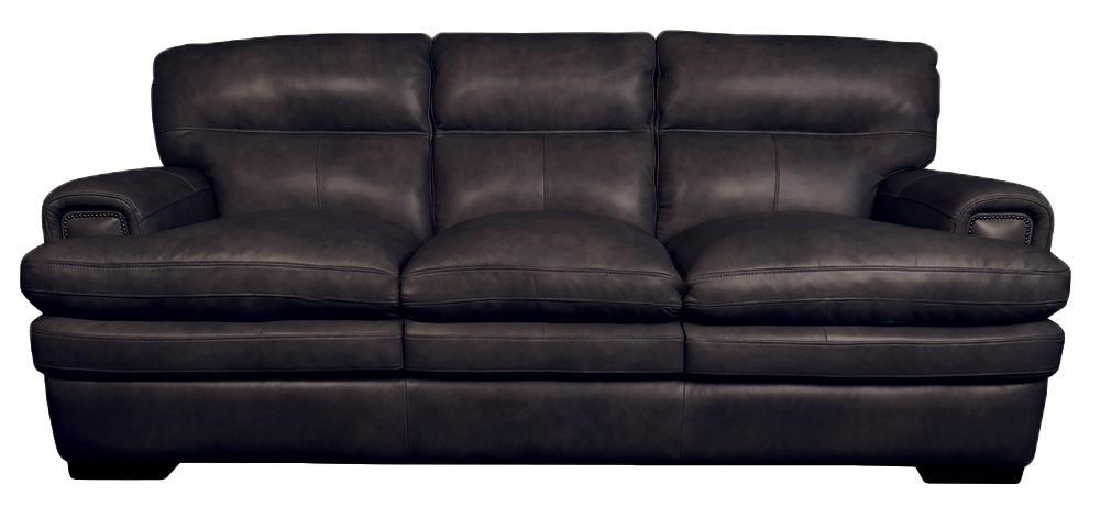 Jake Top Grain 100% Leather Sofa
