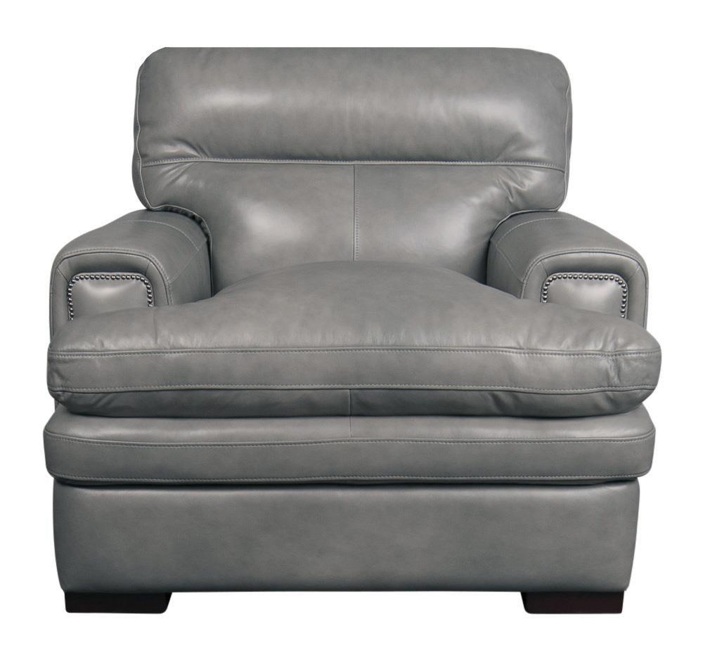 Jake Top Grain Leather Split Chair