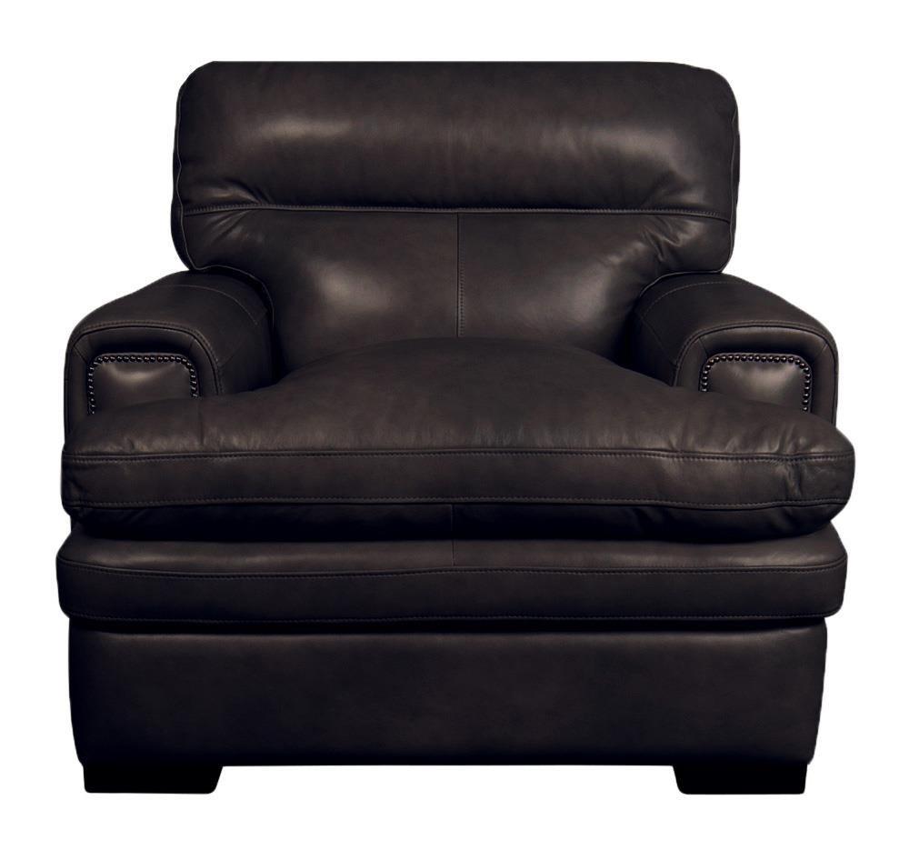 Jake Jake Top Grain Leather Split Chair by La-Z-Boy at Morris Home