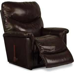La-Z-Boy James James Leather Rocker Recliner