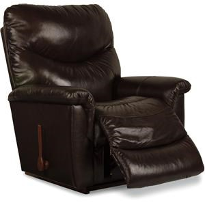 La-Z-Boy James James Power Leather-Match* Recliner